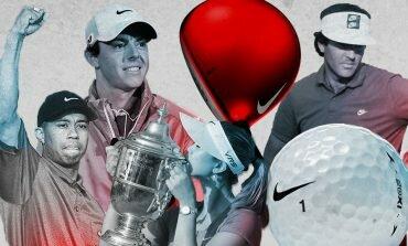 La historia de Nike en el golf